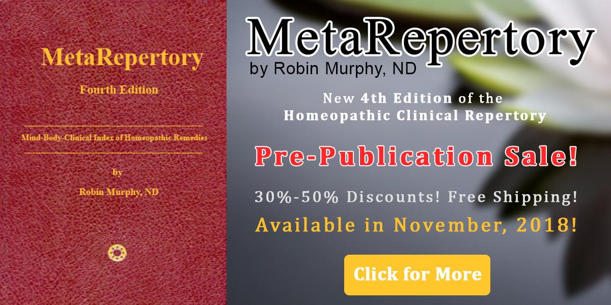 MetaRepertory Pre-Publication Sale